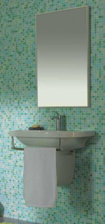Irena lavabo konzolni sa držačem
