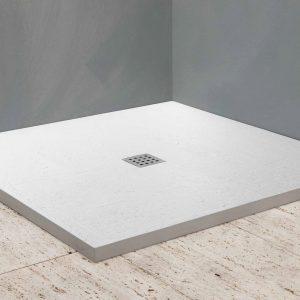 Hora Tile Stone 90x90 white