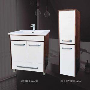 Mirela Rustik kupatilski nameštaj